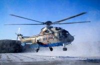Нацгвардейцы провели тренировку по управлению французскимы вертолетами Airbus