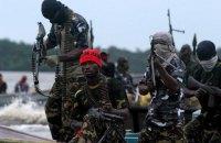 Пираты захватили 12 моряков швейцарского торгового судна у берегов Нигерии