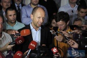 Яценюк обрадовался готовности ПР решать вопрос Тимошенко