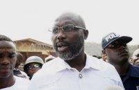 Джордж Веа выиграл выборы президента Либерии