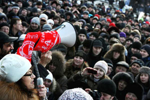 Митинг в Москве собрал рекордное количество людей