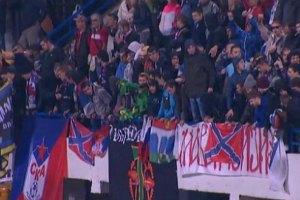 """Росіяни в Чорногорії намагалися спалити прапор США і вивісили банер """"Новоросія"""""""