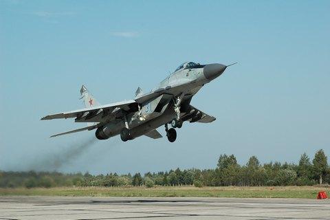 У Підмосков'ї розбився Су-27 (оновлено)