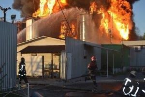 Версія про теракт на нафтобазі під Києвом не підтверджується, - Цеголко