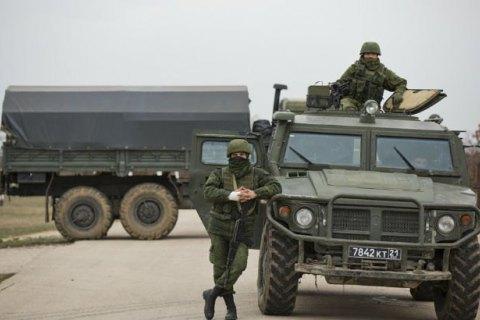 """Військові РФ відпрацьовували """"захоплення"""" стратегічних об'єктів у районі Джанкоя, - розвідка"""