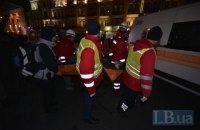 Девушка упала в подземный переход и серьезно травмировалась во время шествия националистов