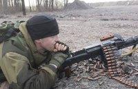 Боевики 12 раз нарушили режим прекращения огня на Донбассе