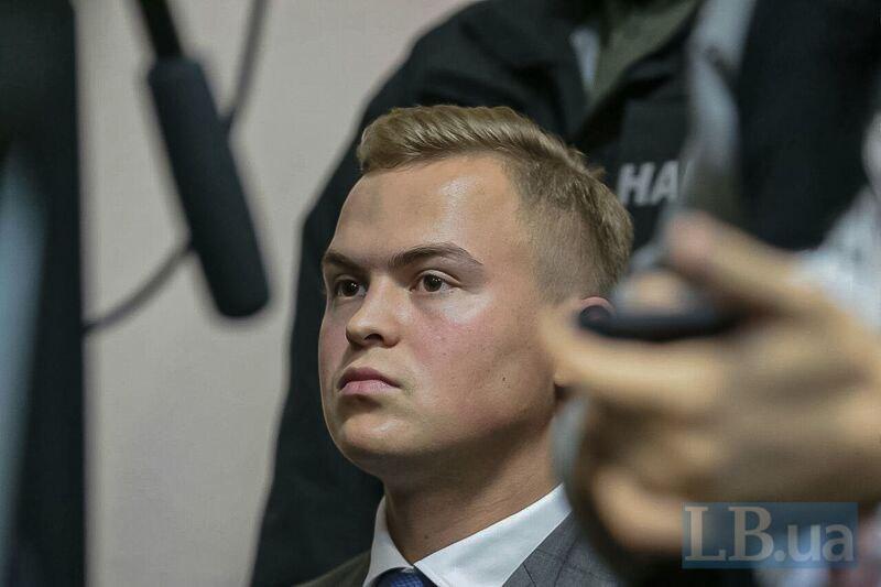 В суд над Олегом Гладковским пришел его сын