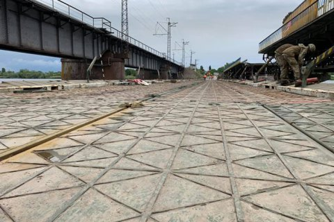 """""""Укравтодор"""" планирует за полгода заменить обвалившийся мост возле Никополя"""