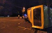 Водитель Lexus погиб после того, как на скорости врезался в маршрутку во Львове