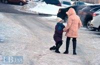 В Киеве из-за непогоды 5 февраля власти призвали оставить школьников дома