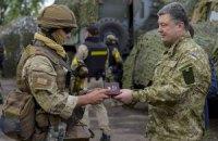 Порошенко подписал закон о признании всех задействованных в АТО участниками боевых действий