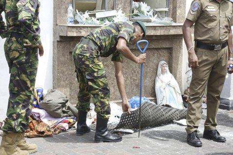 Шри-Ланка снизила данные о погибших в результате терактов