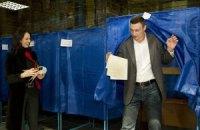 Кличко проголосовал за свою партию