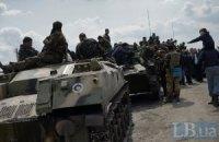 Військові повертаються з Краматорська в місця постійної дислокації