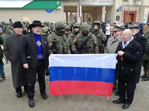 Чеські депутати в анексованому Криму