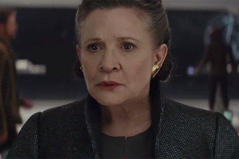 """Принцесса Лея появится в 9-м эпизоде """"Звездных войн"""""""