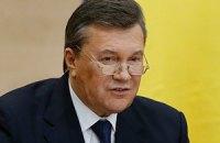 Янукович проігнорував питання про кримінальні справи у Швейцарії проти нього і сина