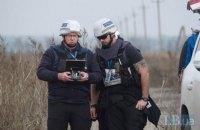 Україна розглядає можливість введення миротворців ОБСЄ на Донбас