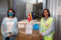 Данія подарувала Україні пів мільйона доз вакцини AstraZeneca