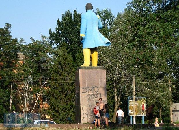 Мешканцям Нікополя Ленін вочевидь набрид ще у 2007 р.
