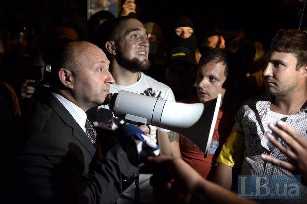 начальник Главного управления МВД в Киеве Валерий Коряк