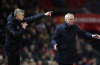 """Моуриньо провел первый официальный матч на """"Олд Траффорд"""" после своего увольнения из """"Манчестер Юнайтед"""""""