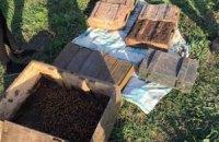 У Харківській області та Хмельницькому виявлено три схованки з боєприпасами