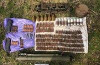 У парковій зоні у Вінниці знайшли схрон з боєприпасами