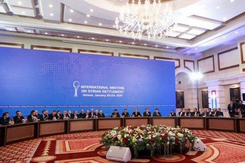 Переговоры по Сирии в Астане отложили на день