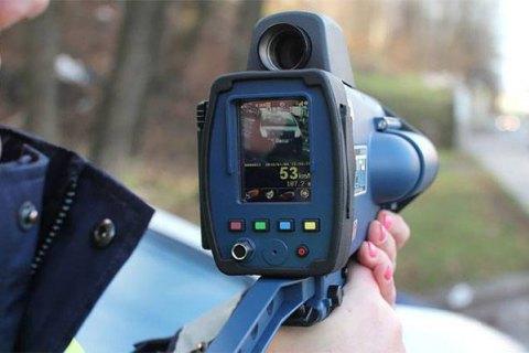Патрульная полиция с 11 февраля начнет использовать еще 20 радаров TruCam