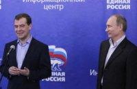 Медведев возглавил единороссов