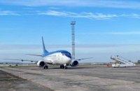 Рівненський аеропорт вперше за 20 років прийняв Боїнг