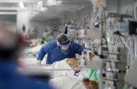 За минувшие сутки госпитализировано рекордное количество пациентов с COVID-19