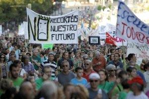 В Іспанії страйкують школи та університети