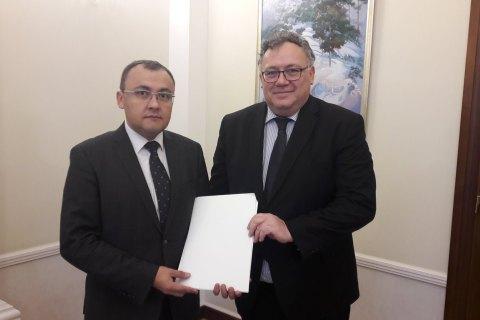 Новый посол Венгрии в Украине приступил к работе