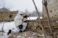 У перший день нового року на Донбасі окупанти стріляли сім разів