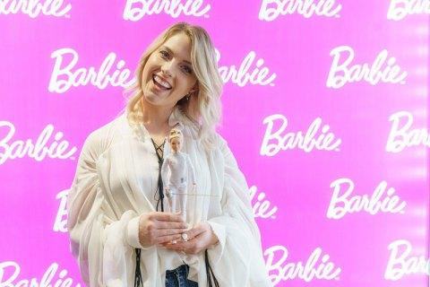 Украинская саблистка Харлан стала прототипом куклы Барби