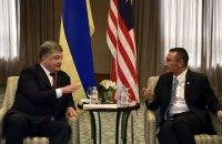 Порошенко обсудил военно-техническое сотрудничество с министром обороны Малайзии