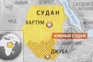 Судан бомбить Південний Судан