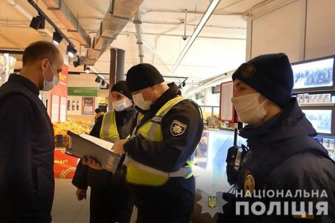 Полиция составила почти 13 тыс. админпротоколов за нарушение карантина