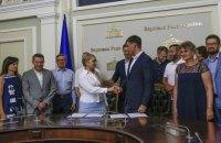 Тимошенко: вирішення проблем переселенців і відновлення Донбасу - це початок шляху до миру