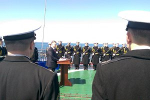 Порошенко анонсировал перевод флота на стандарты НАТО (обновлено)