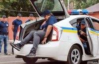 Саакашвили покатался в багажнике на тренировке одесских патрульных