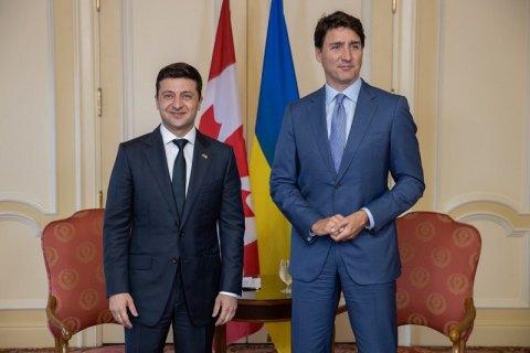 Зеленский пригласил Трюдо в Украину