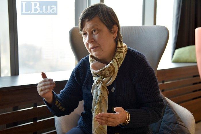 Головна спеціалістка Департаменту загальної середньої та дошкільної освіти МОН Оксана Коваленко