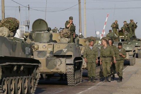 Росія будує велику військову базу за 20 км від кордону з Україною