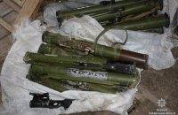 Житель Запоріжжя знайшов у лісі 15 гранатометів