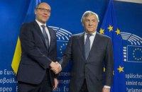 Парубій закликав ЄС посилити санкції проти РФ і збільшити термін їх дії до року