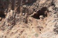 В Чорткове при строительстве мемориала воинам УГА вывезли на свалку человеческие останки